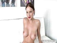 Smoking hot Latina plays with her pussy