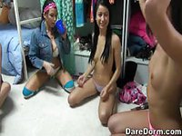 Dorm Full of Horny Whores