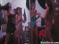 Lesbian Whip Cream Play