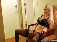 Blonde Wife Pleasuring