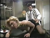 Wild secretary ass fucked in the office