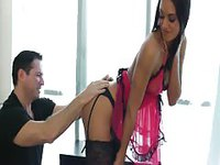 Brunette Satisfying Hooker