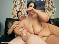 Big dick stud screwing bodacious BBW