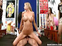 Sex in front of peer audience