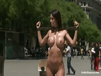 Walking nude in the streets